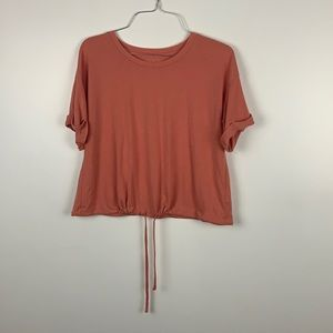 American Eagle Women's Summer Pink top!